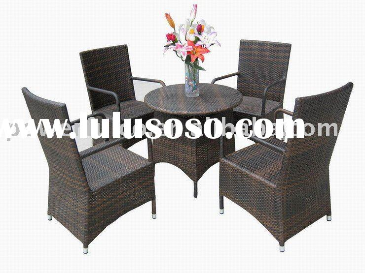 Wicker/Rattan Restaurant Table and Chair