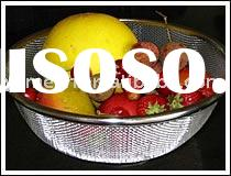 Wire Mesh Basket/Storage Basket/Food Container (ISO 9001 APPROVED)
