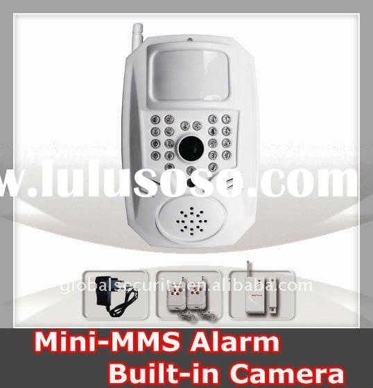 Wireless GSM MMS Home Security Alarm System w/ Built-in Camera(YL-007M6E)