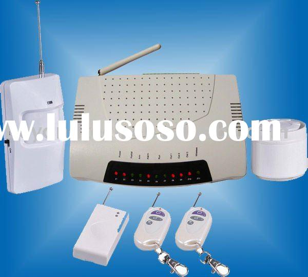 Wireless best gsm home alarm system with stable quality