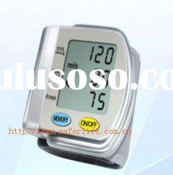 Writst blood pressure meter (with voice) & Heart Beat Meter