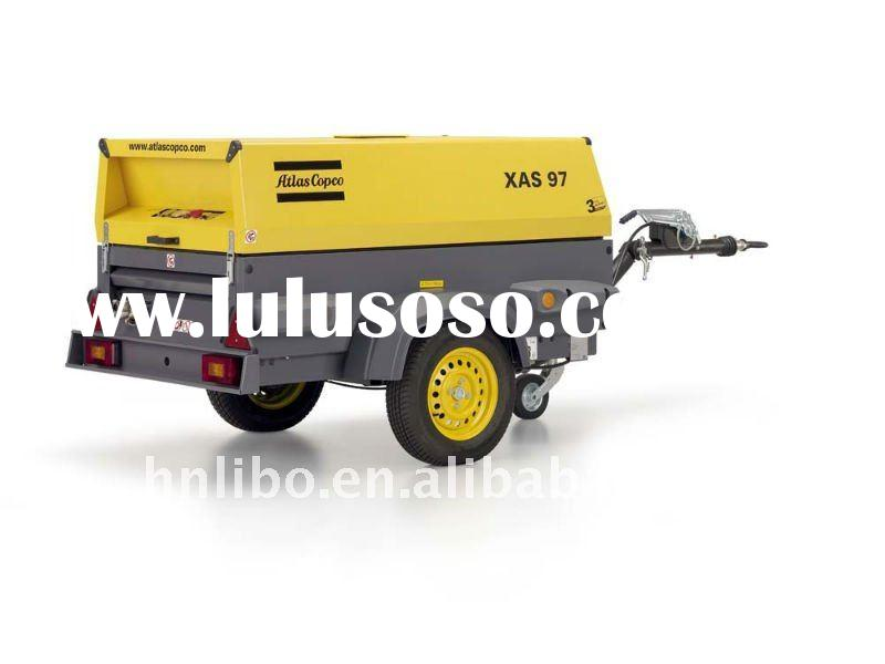 XAHS107Dd ATLAS COPCOscrew industrial mobile air compressor with deutz diesel engine
