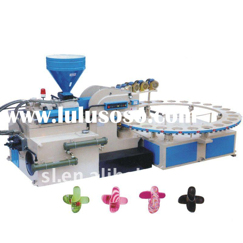XZSD1-600*24 Rotary Type Automatic Air Blowing PVC Slipper Injection Machine