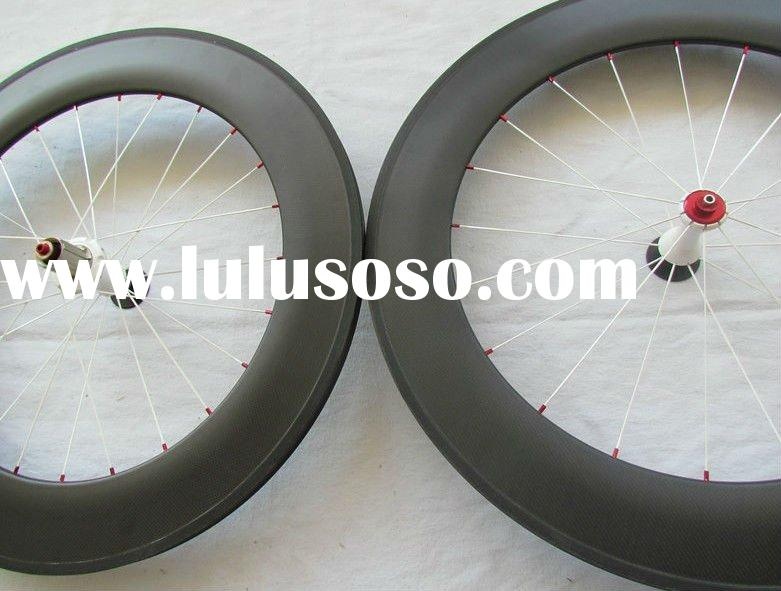 YS-YP 700c road bike 88mm carbon tubular wheelset,88mm tubuar wheelset,Triathlon wheel set