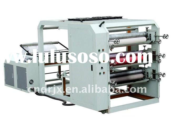 YT-41500 Four Colour Non woven Fabric roll Flexographic Printing Machine