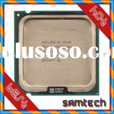 #SAMTECH# Intel CPU-CORE 2 DUO E7400(2.8GHz 3M LGA775) /SLGW3/SLB9Y/with good price