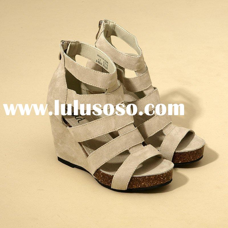 [ce0238] fashion wedge shoes, summer sandal high heel shoes