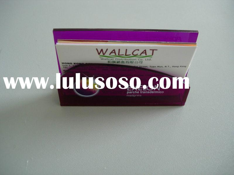 acrylic business card holder, acrylic name card display stand