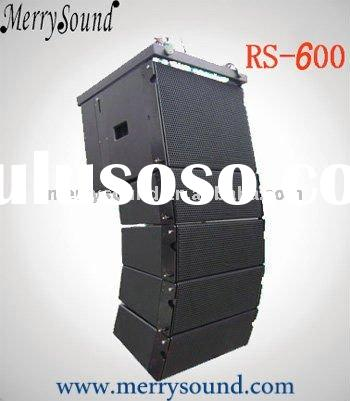 active small line array, professional speaker, audio system (RS-600)