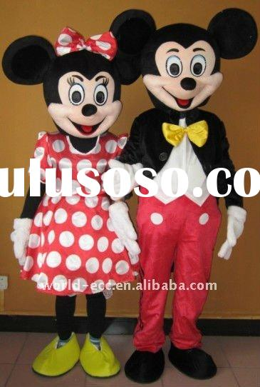adult mickey mouse mascot costumes