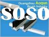 aluminium strip brush seal for revolving door