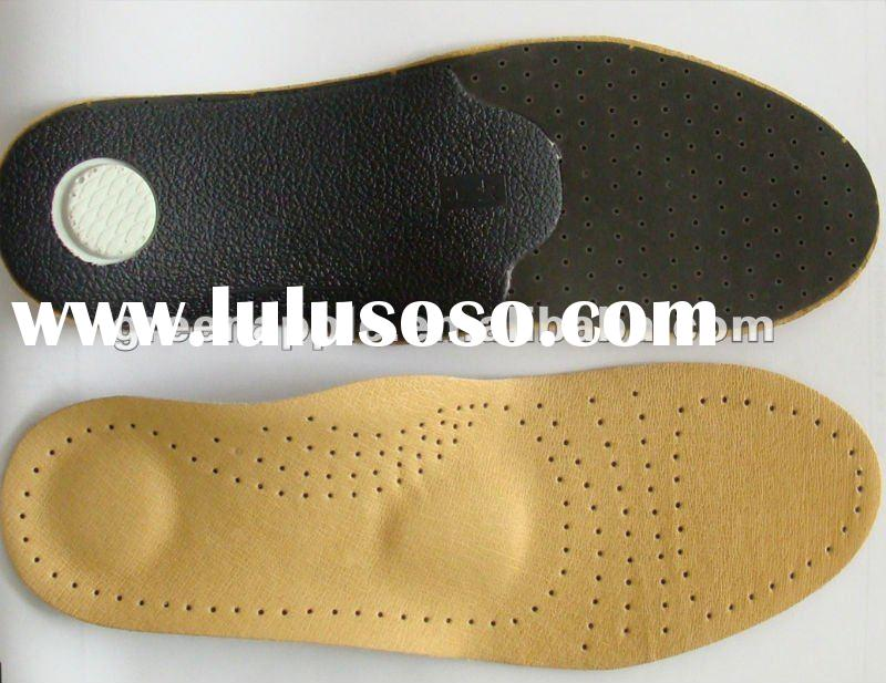 arch support orthotic leather shoes insole