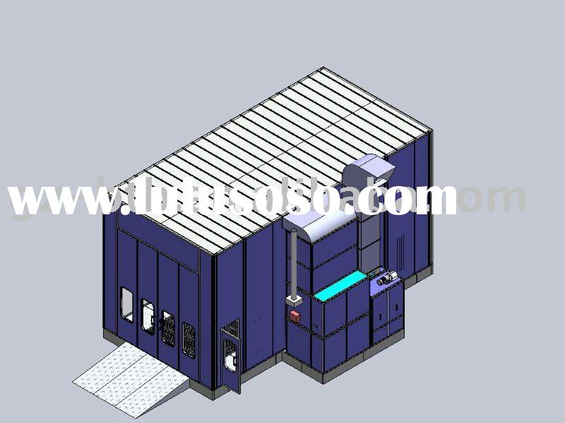 automotive paint spray booth