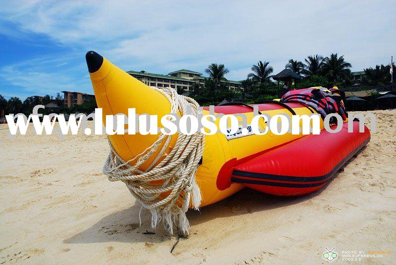 banana boat/inflatable pvc boat/inflatable water boat