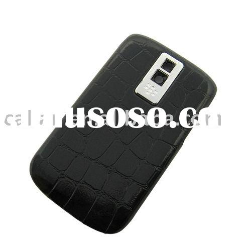 battery door cover faceplate for BlackBerry Bold 9000 (Black Cayman)