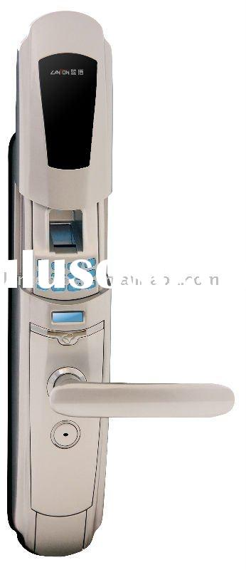 best price electronic keypad sliding protection biometric door lock LT-3000A