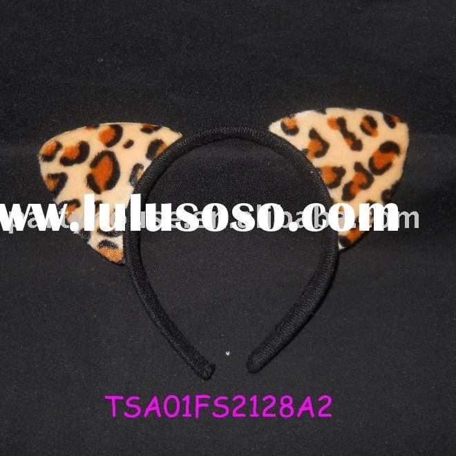 big cat ears headband for party occasion