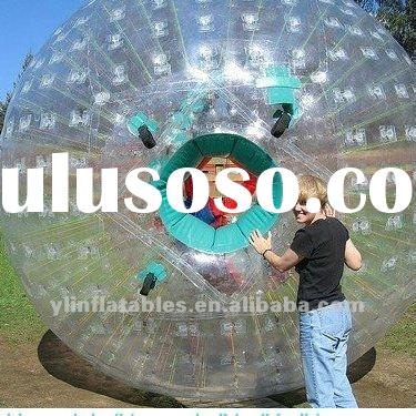 big clear inflatable zorbing/zorb ball(with two entrance)
