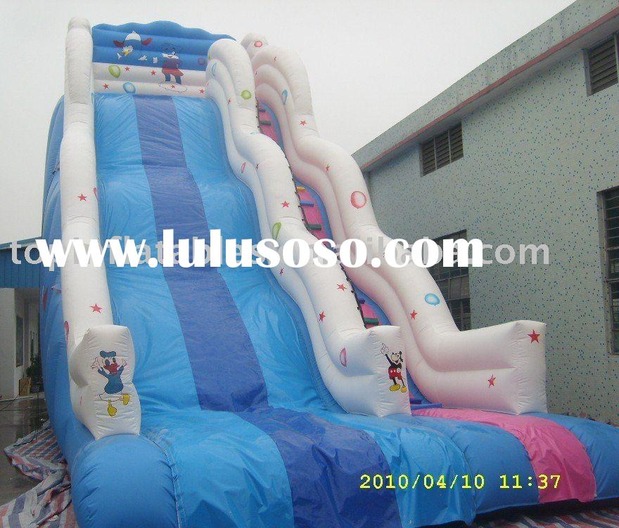 blow up water slides/amusement park slide