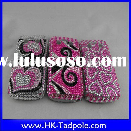 brand new for blackberry 9700 diamond protector case/cover mobile phone accessory