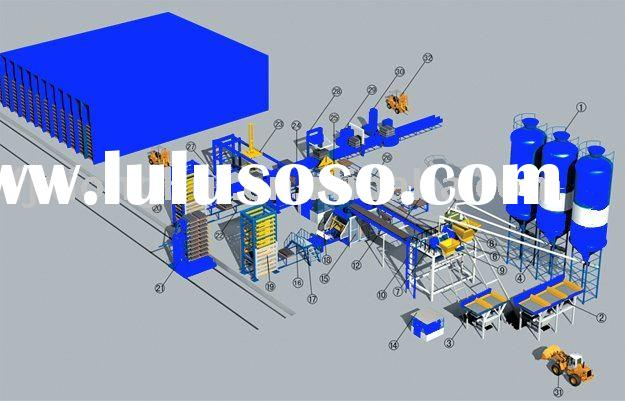 brick/block machine full automatic production line