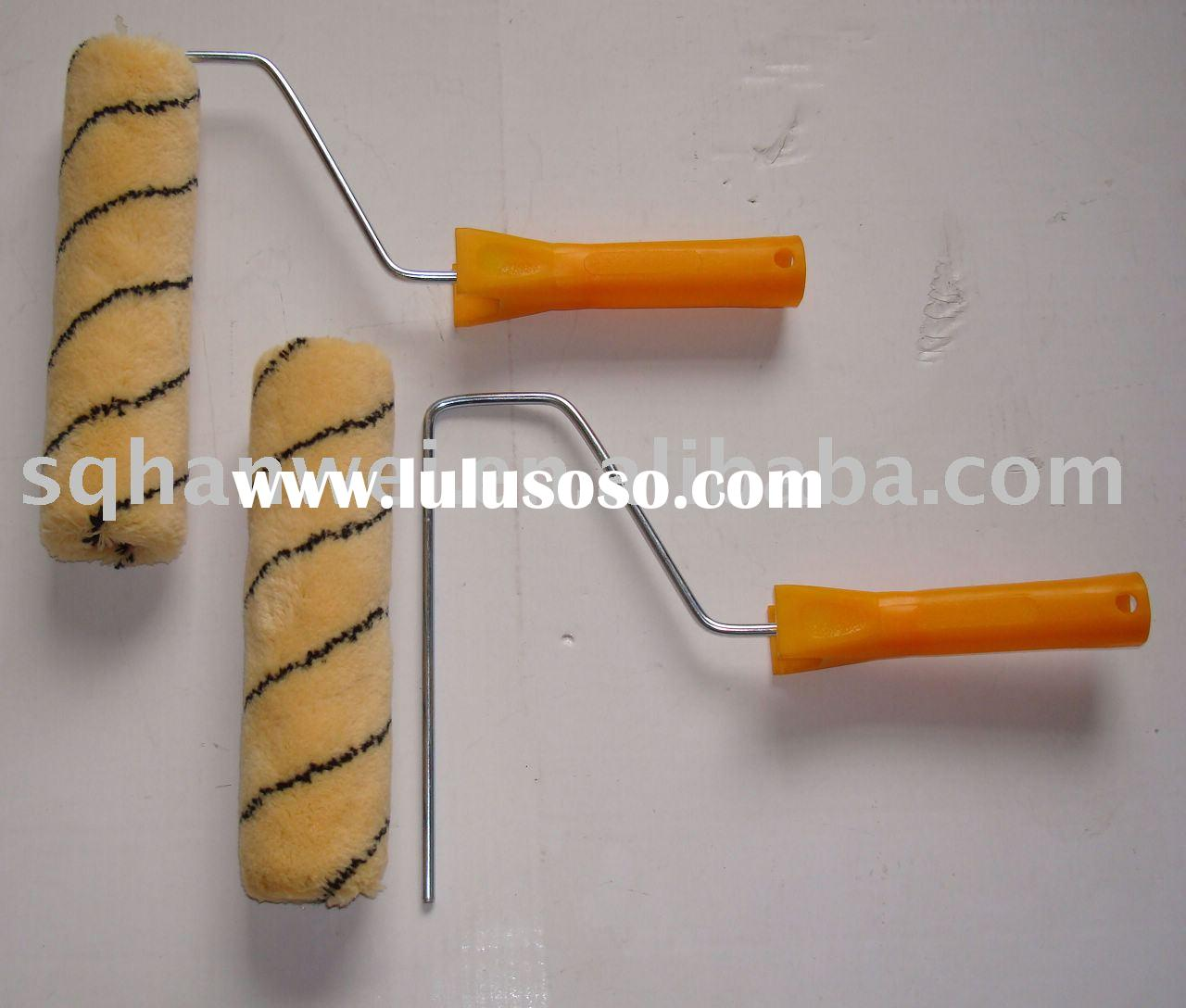brush,paint brush,roller brush,paint roller brush,colourful strip roller , painting roller, roller