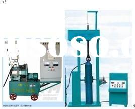 car CNG Cylinder hydraulic pressure testing equipment/ hydrostatic testing machine