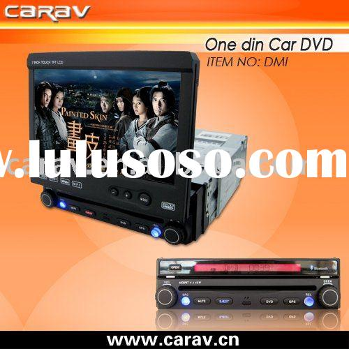 "car dvd-7"" one din in dash car dvd,DVD/VCD/CD/MP3/MPEG4/DIVX/CD-R/WMA/JPEG, Built in TV tuner,"