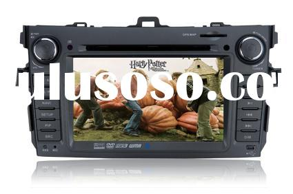 car dvd player For Toyota Corolla with GPS ,bluetooth,IPOD,touch screen