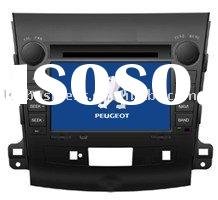 car dvd player for Peugeot 4007 with Built-in GPS, Built-in bluetooth,Steering wheel control,