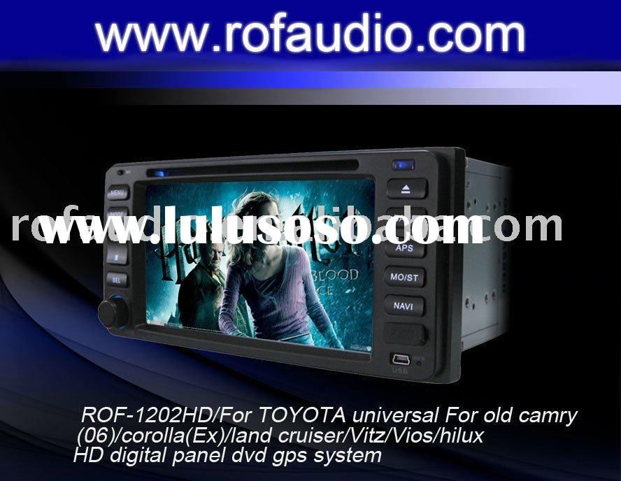 car dvd player for TOYOTA universal For old camry(06)/corolla(Ex)/land cruiser/Vitz/Vios/hilux