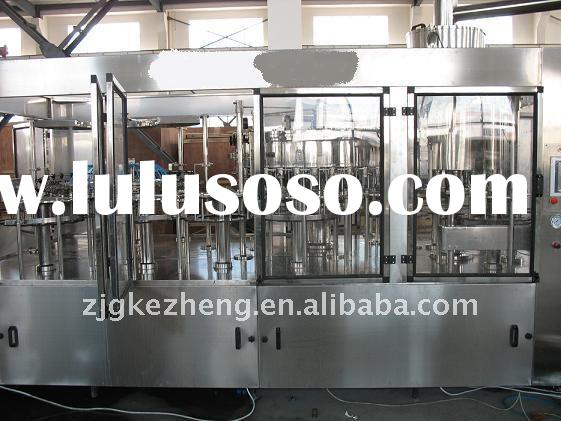 carbonated water 3 in 1 filling machine