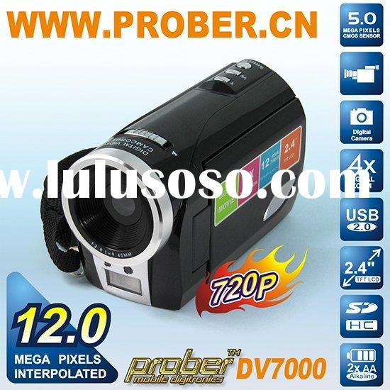 cheap 12.0 mp DV / HP digital video camera /DVR/mini camcorder