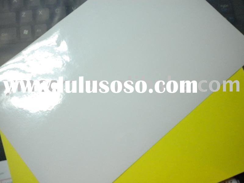 coated self-adhesive label paper