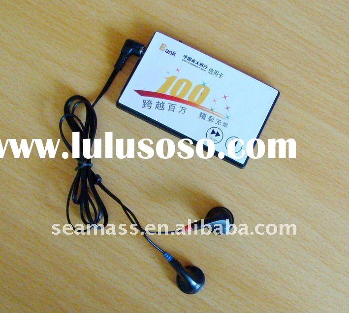 credit card shape fm/am radio for otional product