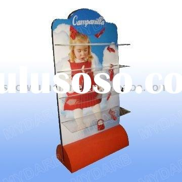 custom business promotion pop display stand acrylic holder marketing shelf merchandising showcase ad