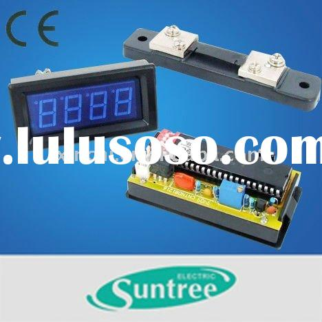 how to read a voltmeter and ammeter