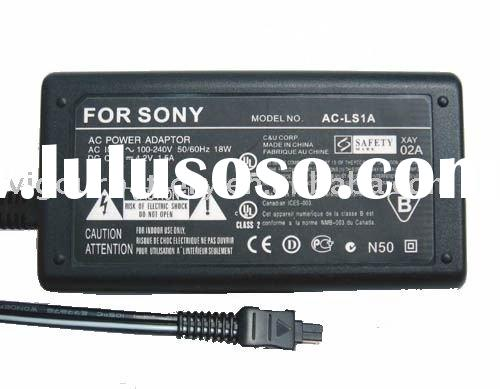 digital camera charger , battery charger , camera adapter AC adapter travel charger for Sony AC-LS1A