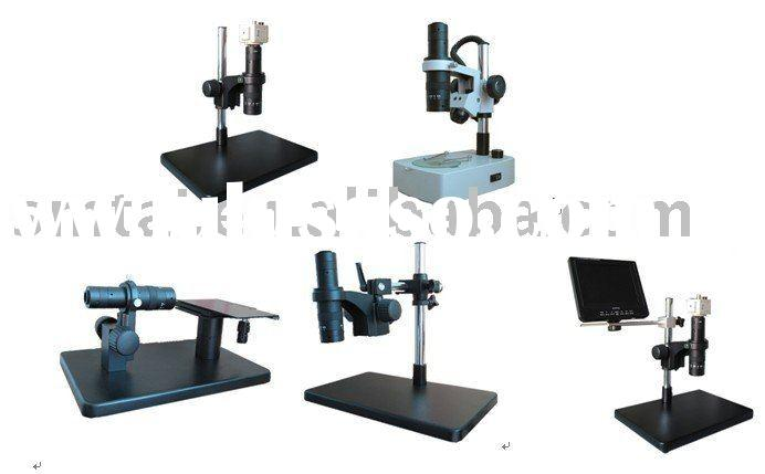 digital microscope camera Video Microscope with monitor from china
