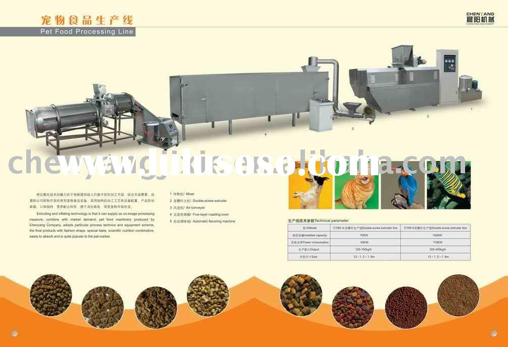 dry pet food processing machines