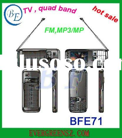dual SIM TV mobile phone with bluetooth,full screen FM,MP3..