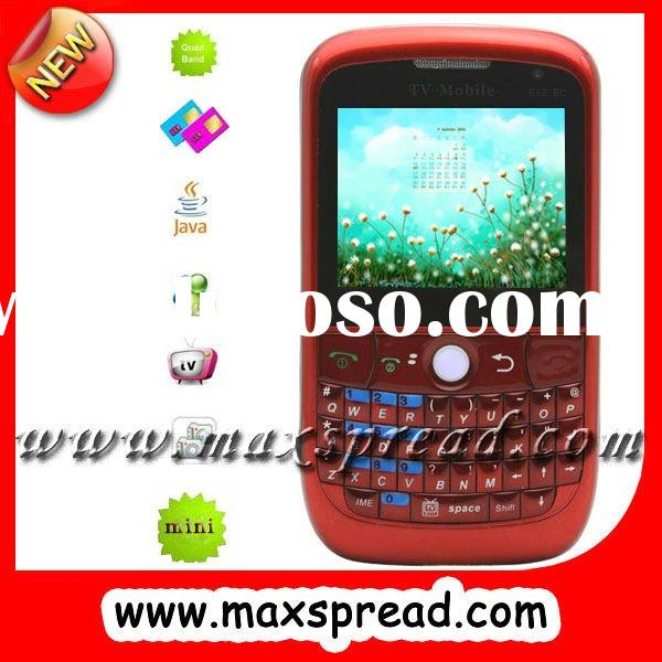 dual sim cell phone with qwerty keyboard (MAX-E82 EC)