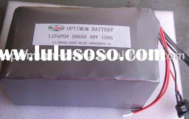 electric motorcycle battery 48V 15AH-lifepo4 battery