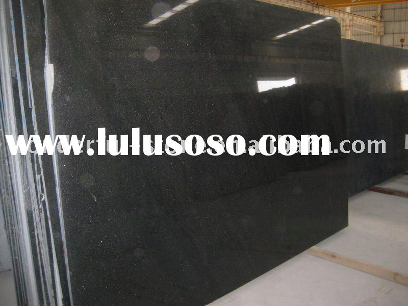 extra Black Galaxy granite Slab & Tile