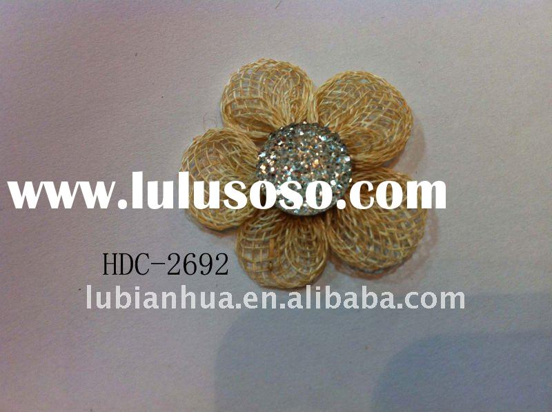 fake cloth flower,fashion garment decorative flowers ,artificial brooch flowers