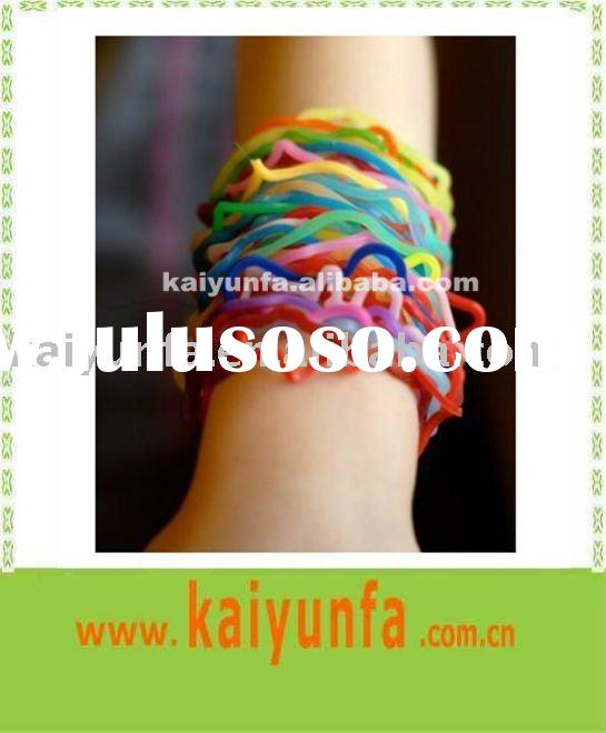 fashion elastic hair rubber bands for personal accessories