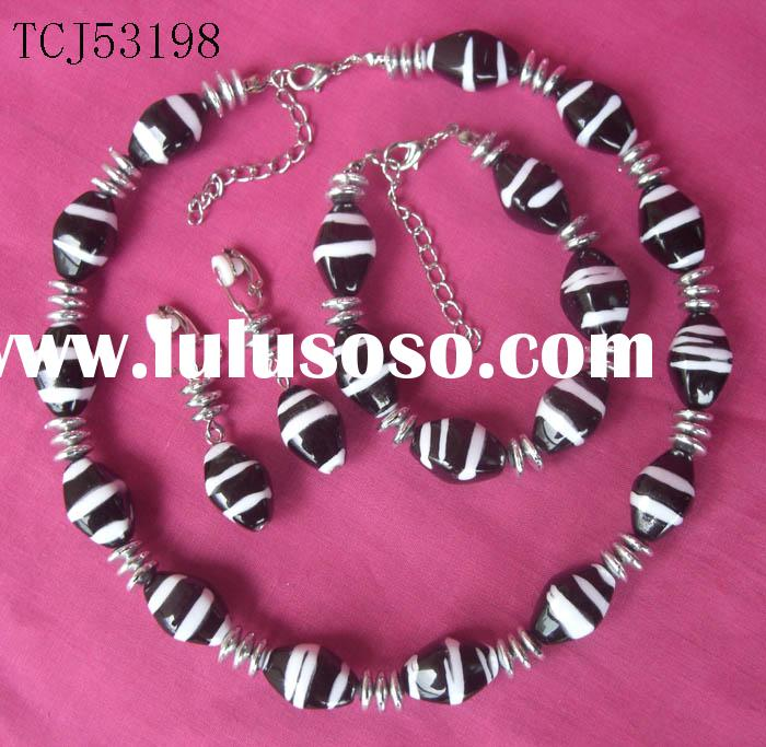 fashion jewelry set, promotional set for 2009 Canton Fair