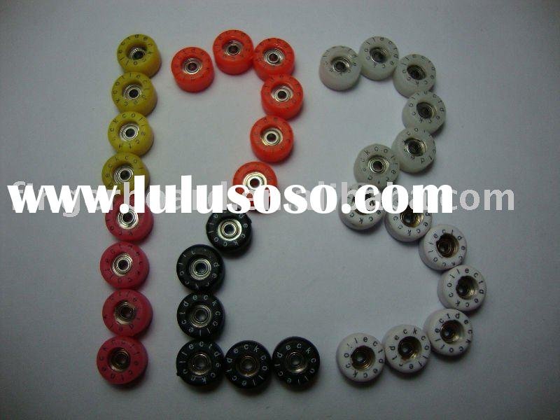 fingerboard wheels, finger skateboards wheels,finger skateboards bearing