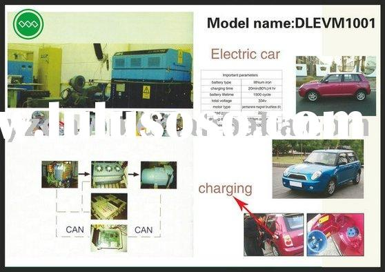 four seaters and 334V50Ah DLEVM1001 high speed electric car with lithium battery, fast charging syst