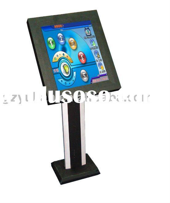 free standing self-service terminal/Kiosk/ paypal multi touch kiosk/ restaurant ordering system